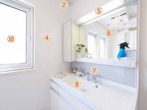 洗面所作業箇所