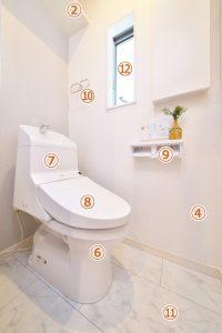 トイレ作業箇所