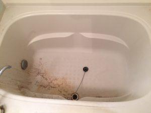 浴槽作業前